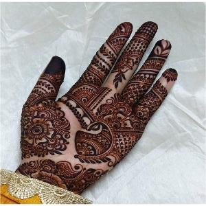 Back Hand Mehndi Ke Design