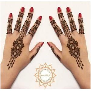 Simple Mehndi Ka Design