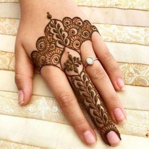 """alt=""""finger Mehndi Design 2020"""""""
