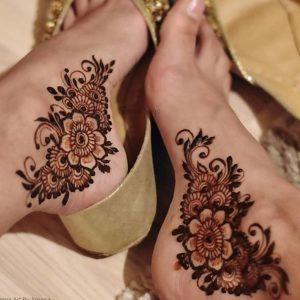 Foot Mehndi Design 2020