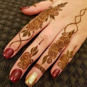 Best Simple Mehndi Design