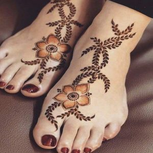 Foot Mehndi Design 2021