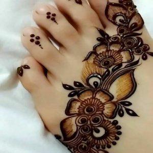 New Foot Mehndi Design