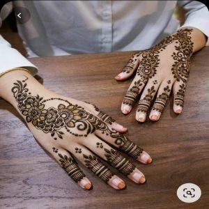 Simple Mehandi Design