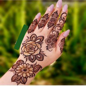 Back Hand Mehndi Design | Check Latest Mehndi Design for Back Hand