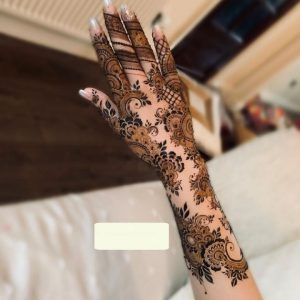 Full Arm Mehndi Design