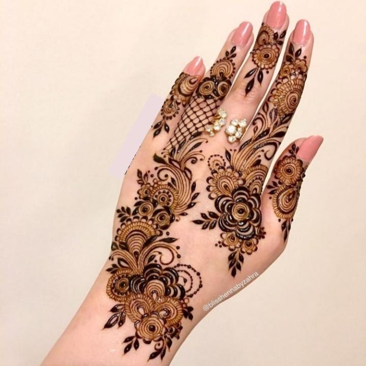 New Hand Mehndi Design