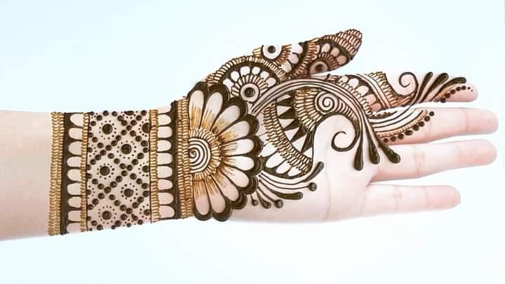 arabic mehndi design for eid