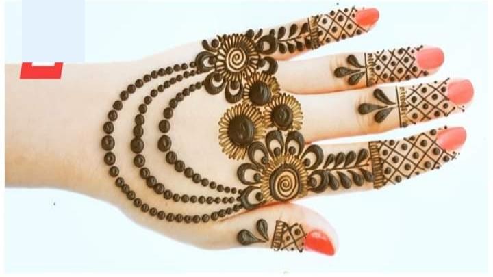 easy eid mehandi design