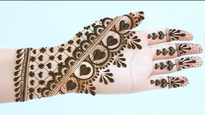 eid mehendi design stylish