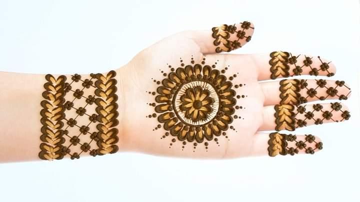 eid simple mehndi design