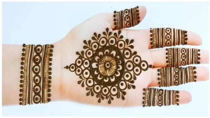 front hand eid design