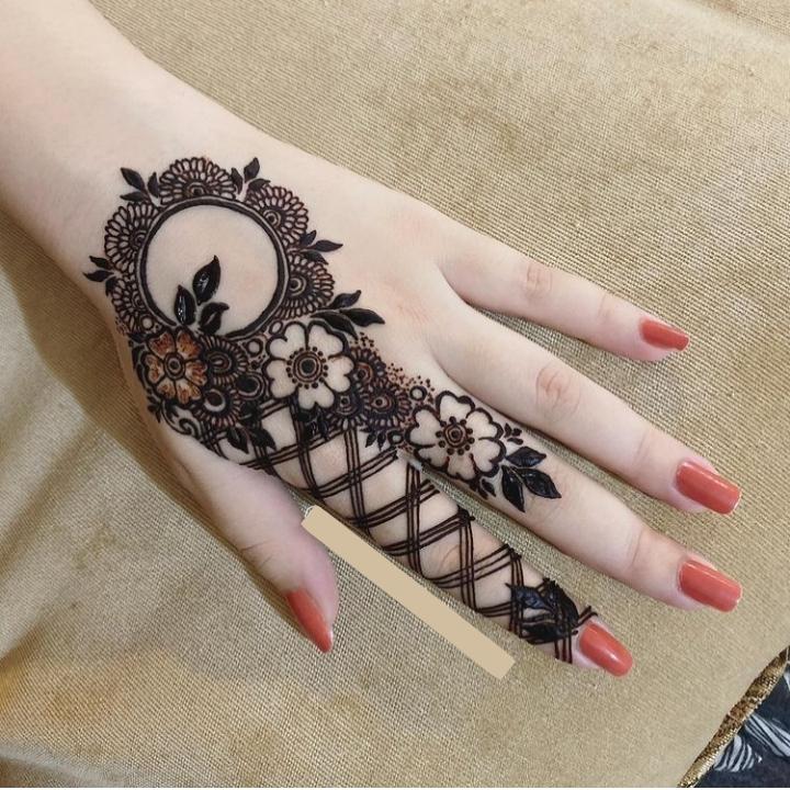 mehandi design for fingers 1