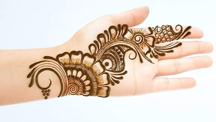 new arabic mehandi design