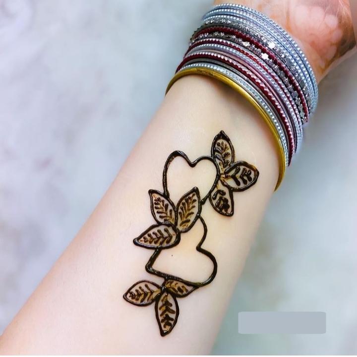 Kids Mehndi Design for Arm