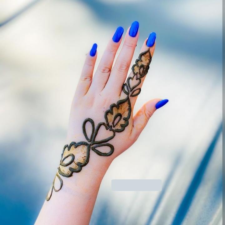 Mehandi Design Simple