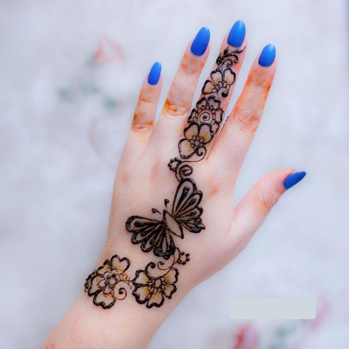 Mehndi Design for Kids Full Hand