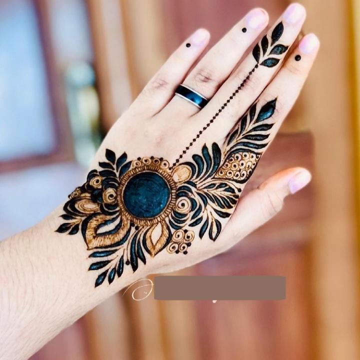 New Style Henna Design