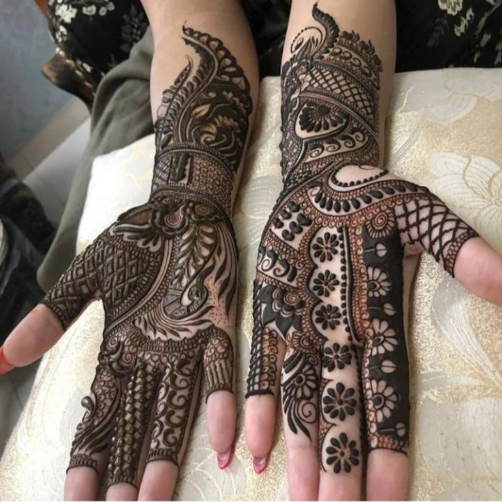 3D Full Mehndi Designs