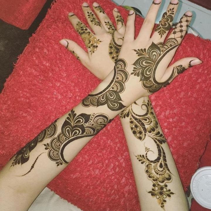 Arabic Mehandi Design Full Hand