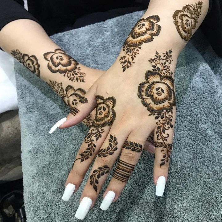 Arabic Mehndi Design 2020