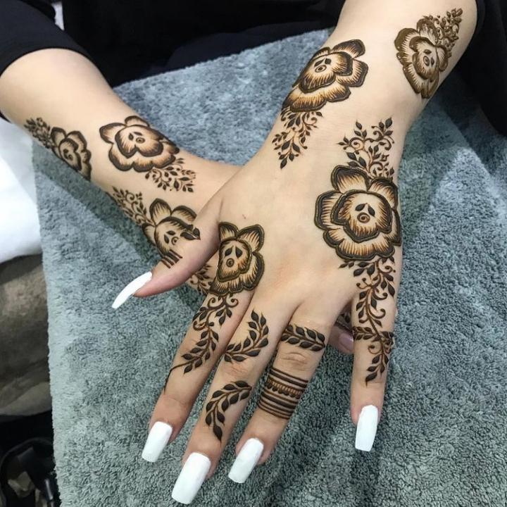 Arabic Mehndi Design 2021