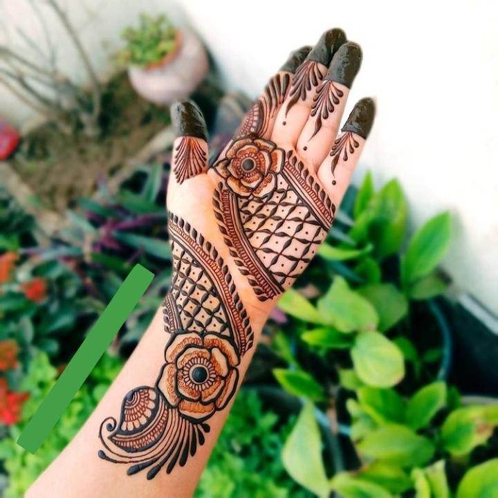 Beautiful Mehandi Design Full Hand