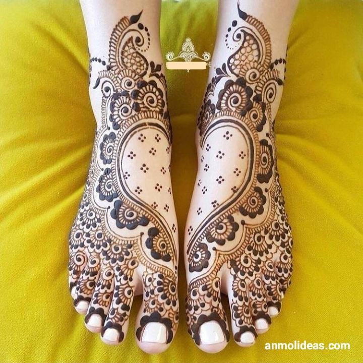 Best Mehndi Designs for Feet