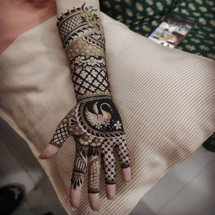 Bridal Mehndi Design Full Hand