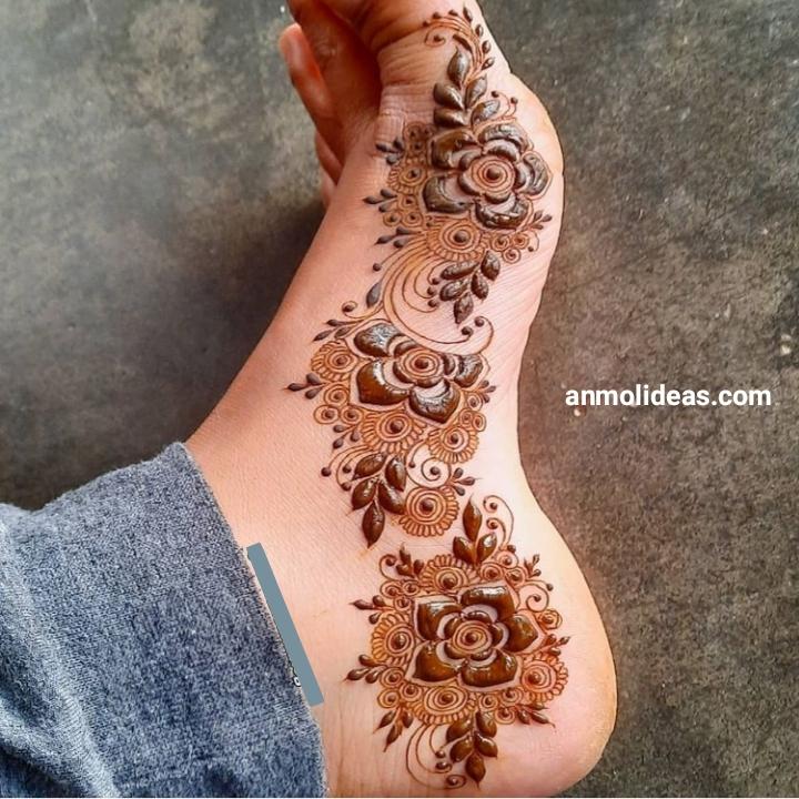 Foot Henna Design 2020