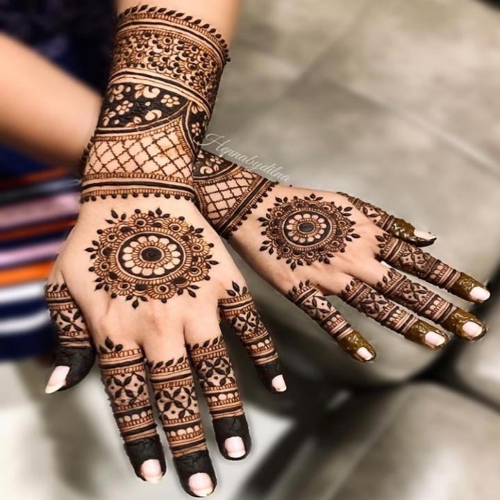 Indian Mehndi Design Full