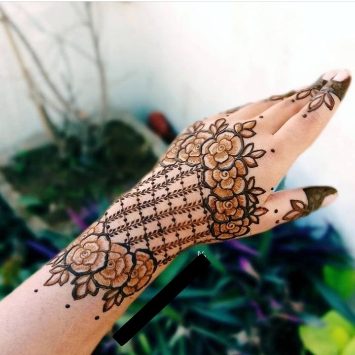 Latest Mehndi Design Full