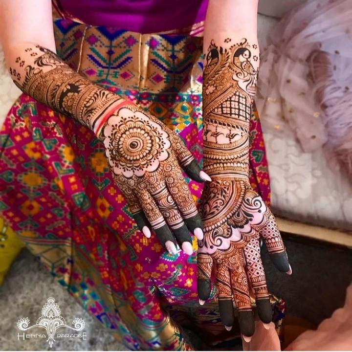 Mehndi Design for Brides