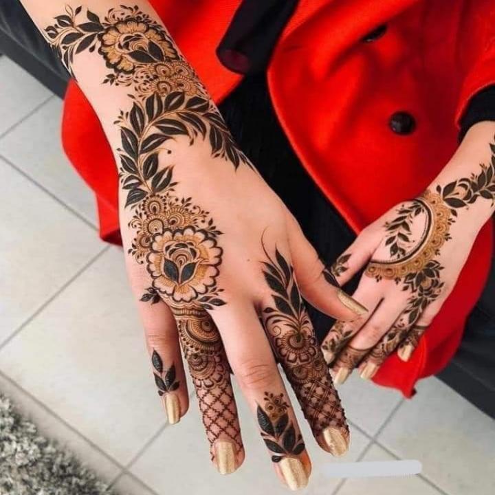 Modern Mehndi Patterns