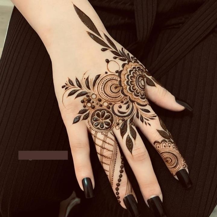 New Henna Pattern