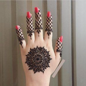 New Mehndi Design Arabic Style